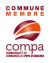 Logo commune membre de la COMPA Communauté de Communes du Pays d'Ancenis